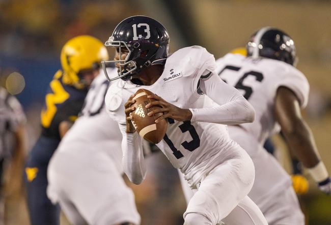 Georgia Southern vs. Louisiana-Monroe - 9/17/16 College Football Pick, Odds, and Prediction