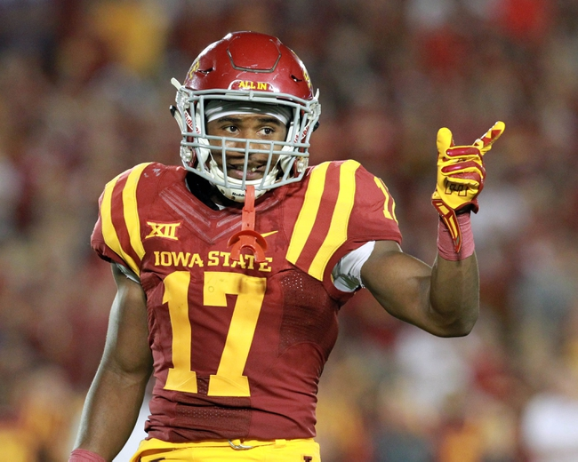 Iowa Hawkeyes vs. Iowa State Cyclones - 9/12/15 College Football Pick, Odds, and Prediction