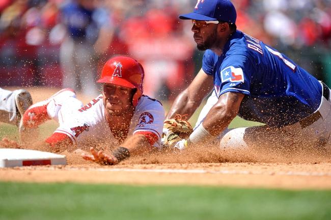 Texas Rangers vs. Los Angeles Angels - 10/1/15 MLB Pick, Odds, and Prediction
