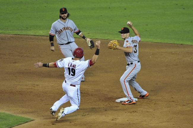 Arizona Diamondbacks vs. San Francisco Giants - 9/8/15 MLB Pick, Odds, and Prediction