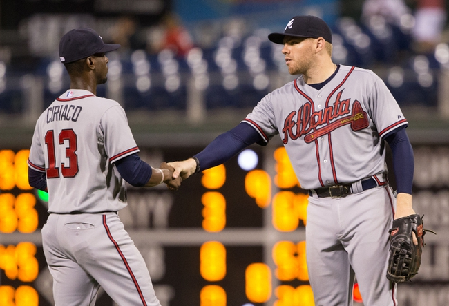Braves vs. Phillies - 9/19/15 MLB Pick, Odds, and Prediction