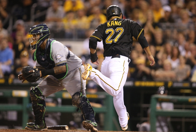 Pittsburgh Pirates vs. Milwaukee Brewers - 9/12/15 MLB Pick, Odds, and Prediction