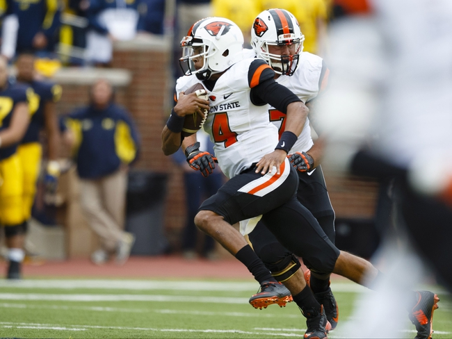 Oregon State vs. San Jose State - 9/19/15 College Football Pick, Odds, and Prediction