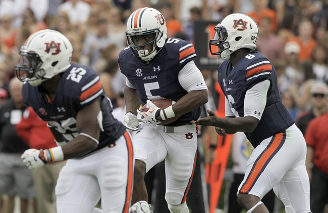 Mississippi State at Auburn - 9/26/15 College Football Pick, Odds, and Prediction