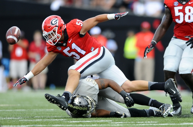 Georgia Bulldogs vs. Kentucky Wildcats - 11/7/15 College Football Pick, Odds, and Prediction
