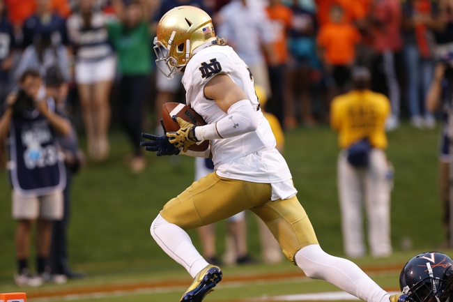 Georgia Tech Yellow Jackets vs. Notre Dame Fighting Irish - 9/19/15 College Football Pick, Odds, and Prediction