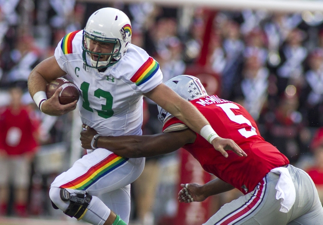Hawaii Warriors vs. Air Force Falcons - 10/31/15 College Football Pick, Odds, and Prediction