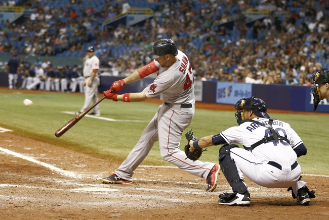 Rays vs. Red Sox - 9/13/15 MLB Pick, Odds, and Prediction