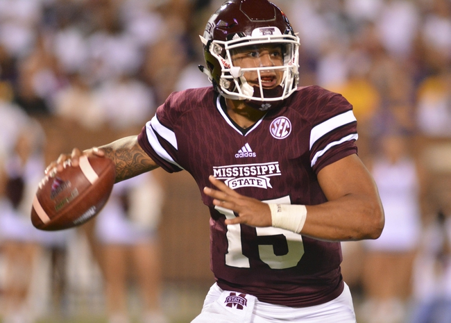 Mississippi State vs. Northwestern State - 9/19/15 College Football Pick, Odds, and Prediction