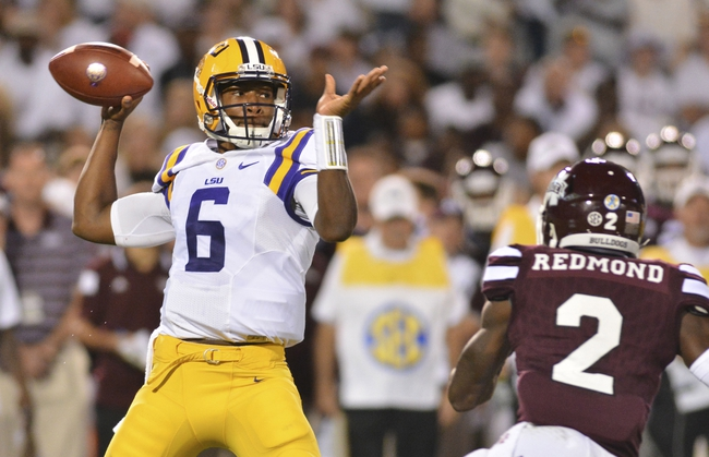 LSU vs. Auburn - 9/19/15 College Football Pick, Odds, and Prediction