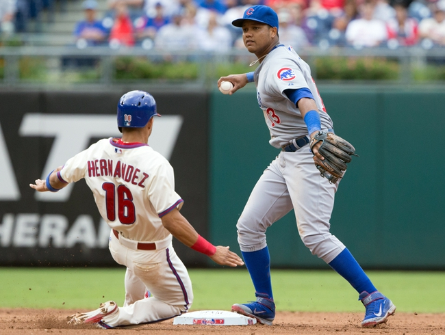 Chicago Cubs vs. Philadelphia Phillies - 5/27/16 MLB Pick, Odds, and Prediction