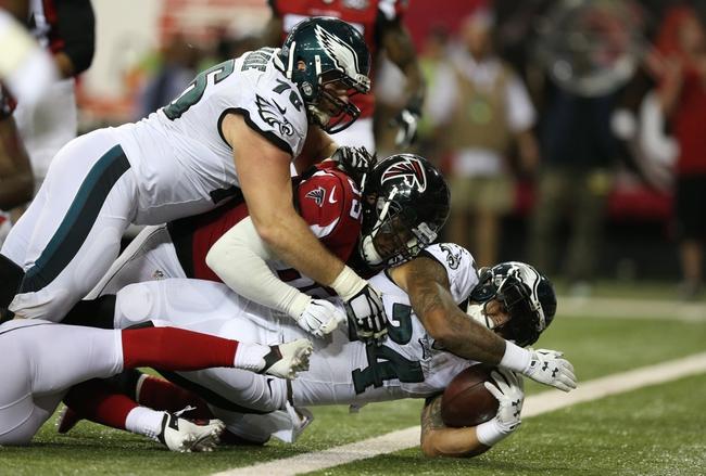 Philadelphia Eagles vs. Atlanta Falcons - 11/13/16 NFL Pick, Odds, and Prediction