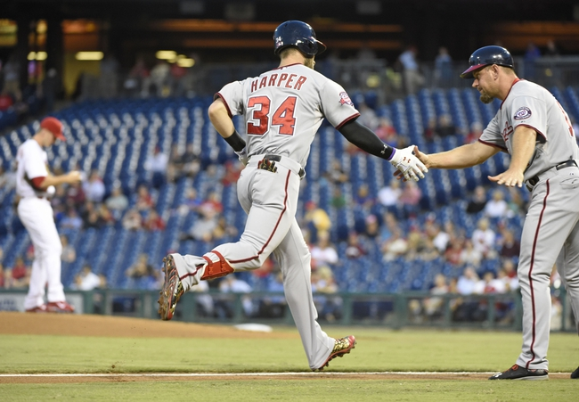 Phillies vs. Nationals - 9/16/15 MLB Pick, Odds, and Prediction