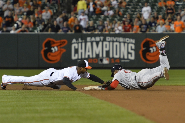 Orioles vs. Red Sox - 9/16/15 MLB Pick, Odds, and Prediction