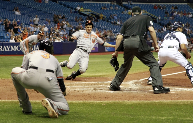 Rays vs. Orioles - 9/18/15 MLB Pick, Odds, and Prediction