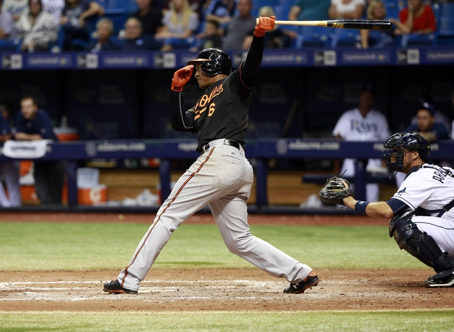 Rays vs. Orioles - 9/19/15 MLB Pick, Odds, and Prediction