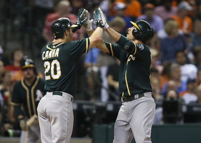 Astros vs. Athletics - 9/19/15 MLB Pick, Odds, and Prediction