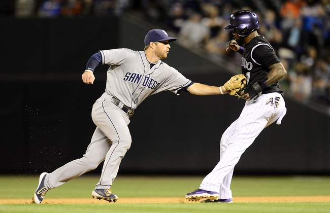 Colorado Rockies vs. San Diego Padres - 9/19/15 MLB Pick, Odds, and Prediction