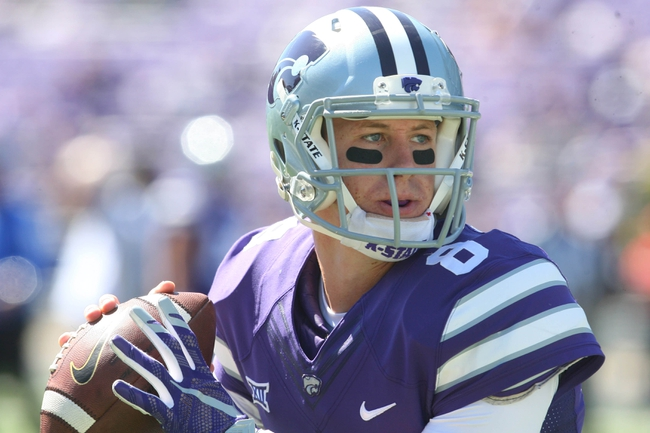 Kansas State vs. TCU - 10/10/15 College Football Pick, Odds, and Prediction