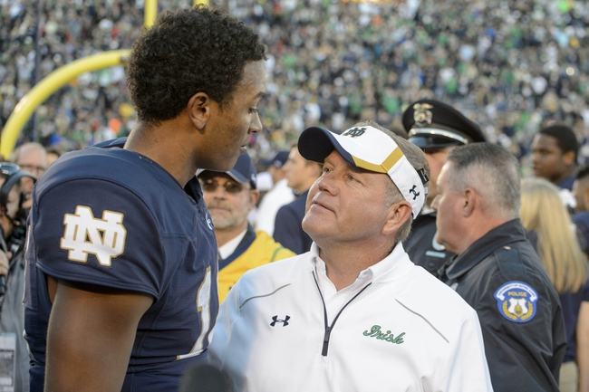 UMass at Notre Dame - 9/26/15 College Football Pick, Odds, and Prediction