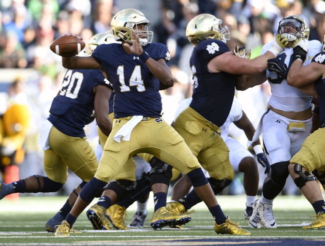 Massachusetts Minutemen vs. Notre Dame Fighting Irish - 9/26/15 College Football Pick, Odds, and Prediction