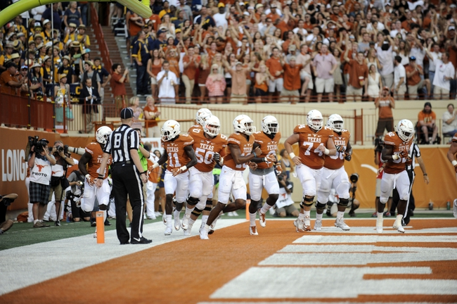 Texas vs. Oklahoma - 10/10/15 College Football Pick, Odds, and Prediction