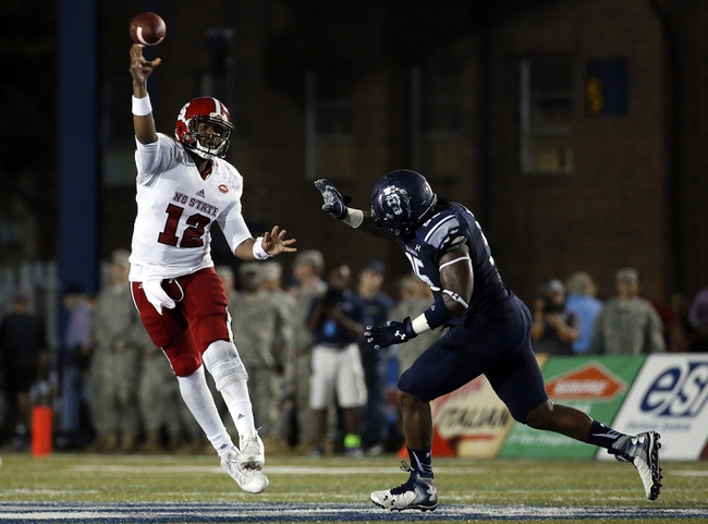 North Carolina State Wolfpack vs. Louisville Cardinals - 10/3/15 College Football Pick, Odds, and Prediction