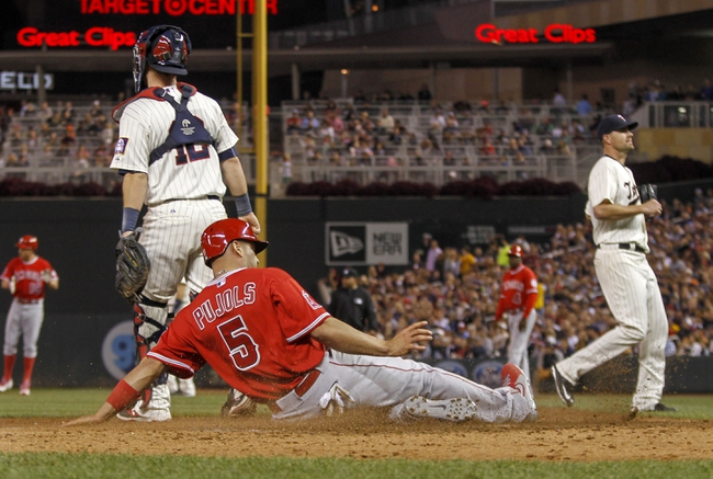 Twins vs. Angels - 4/15/16 MLB Pick, Odds, and Prediction