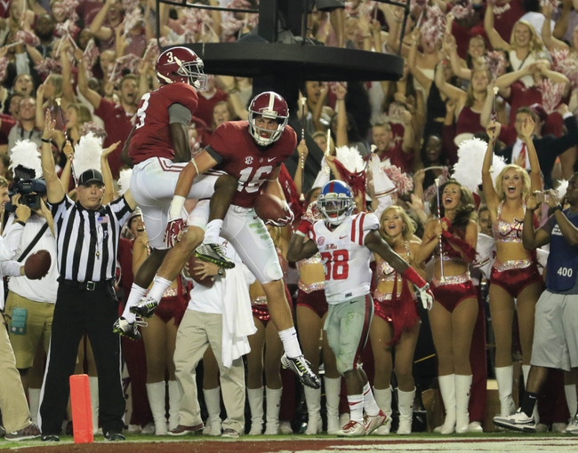 Alabama vs. Louisiana-Monroe - 9/26/15 College Football Pick, Odds, and Prediction