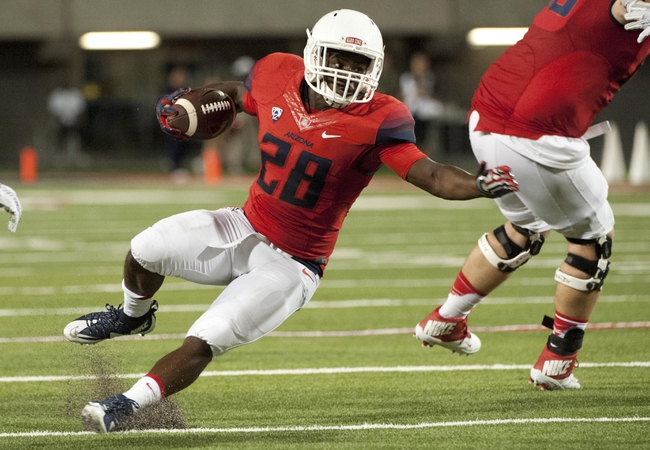 Arizona Wildcats vs. Oregon State Beavers - 10/10/15 College Football Pick, Odds, and Prediction