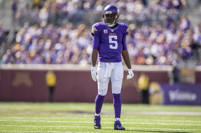 Vikings vs. Chargers - 9/27/15 NFL Pick, Odds, and Prediction