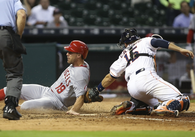 Houston Astros vs. Los Angeles Angels - 9/22/15 MLB Pick, Odds, and Prediction