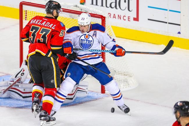Calgary Flames vs. Edmonton Oilers - 10/17/15 NHL Pick, Odds, and Prediction