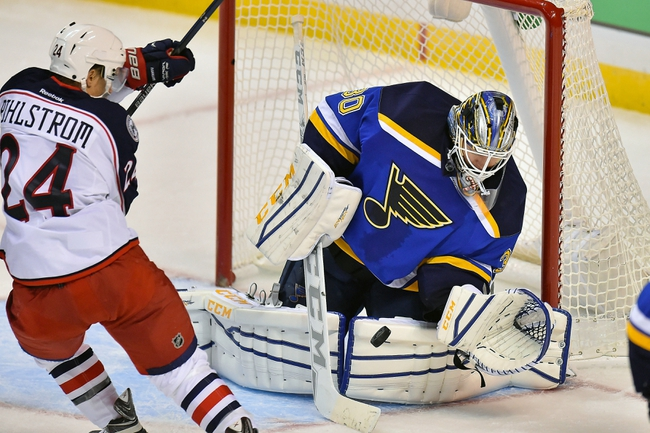 Columbus Blue Jackets vs. St. Louis Blues - 11/17/15 NHL Pick, Odds, and Prediction