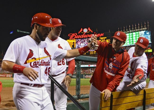 St. Louis Cardinals vs. Cincinnati Reds - 9/23/15 MLB Pick, Odds, and Prediction