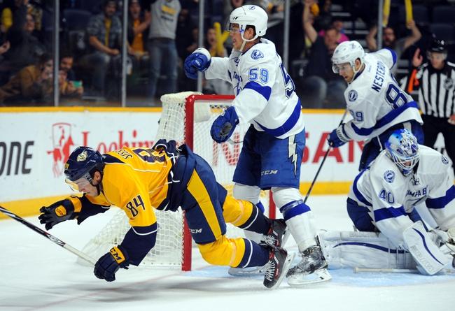Nashville Predators vs. Tampa Bay Lightning - 10/20/15 NHL Pick, Odds, and Prediction