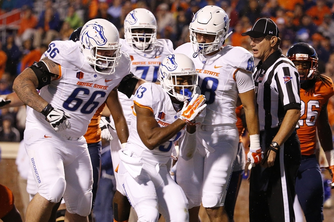 Utah State Aggies vs. Boise State Broncos - 10/16/15 College Football Pick, Odds, and Prediction