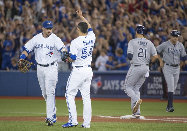 Toronto Blue Jays vs. Tampa Bay Rays - 9/26/15 MLB Pick, Odds, and Prediction