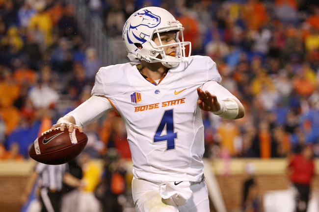 Hawaii at Boise State - 10/3/15 College Football Pick, Odds, and Prediction