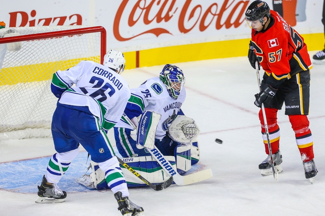 Calgary Flames vs. Vancouver Canucks - 10/7/15 NHL Pick, Odds, and Prediction