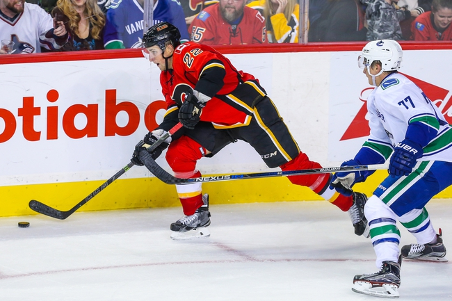 Canucks at Flames - 10/7/15 NHL Pick, Odds, and Prediction