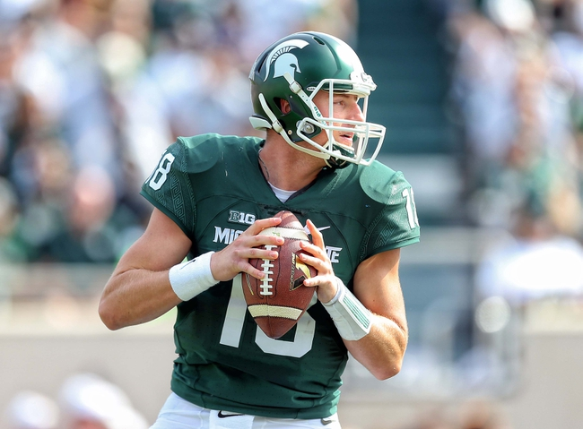 Michigan State vs. Purdue - 10/3/15 College Football Pick, Odds, and Prediction