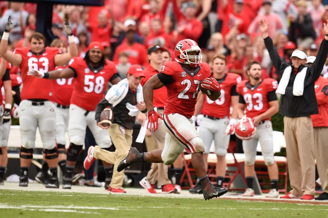 Georgia vs. North Carolina - 9/3/16 College Football Pick, Odds, and Prediction