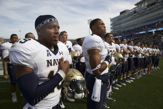 Air Force at Navy - 10/3/15 College Football Pick, Odds, and Prediction