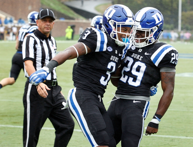 Duke Blue Devils vs. Boston College Eagles - 10/3/15 College Football Pick, Odds, and Prediction