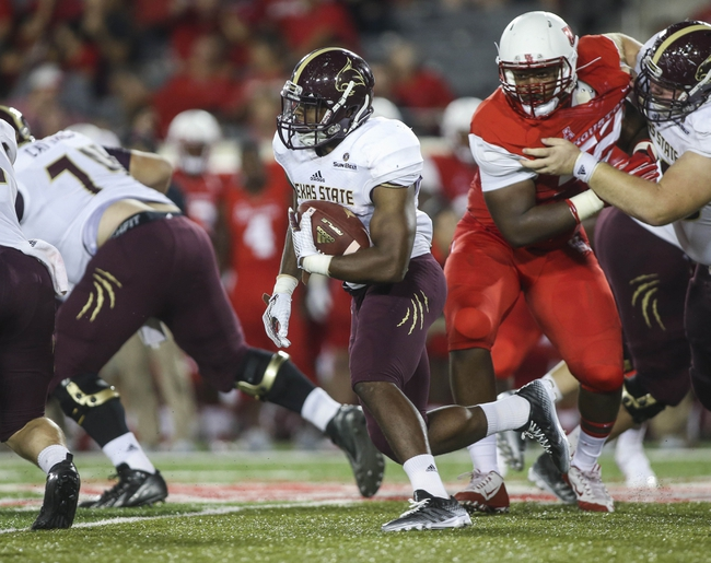 Texas State Bobcats vs. New Mexico State Aggies - 11/7/15 College Football Pick, Odds, and Prediction