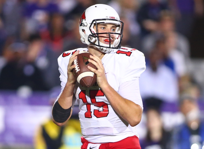 Ball State Cardinals vs. NIU Huskies - 10/1/16 College Football Pick, Odds, and Prediction