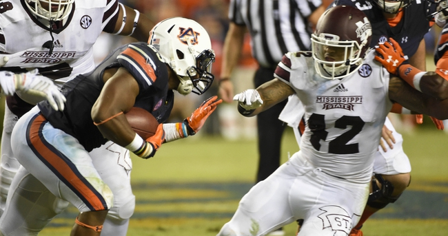 Auburn Tigers vs. Mississippi State Bulldogs - 10/8/16 College Football Pick, Odds, and Prediction