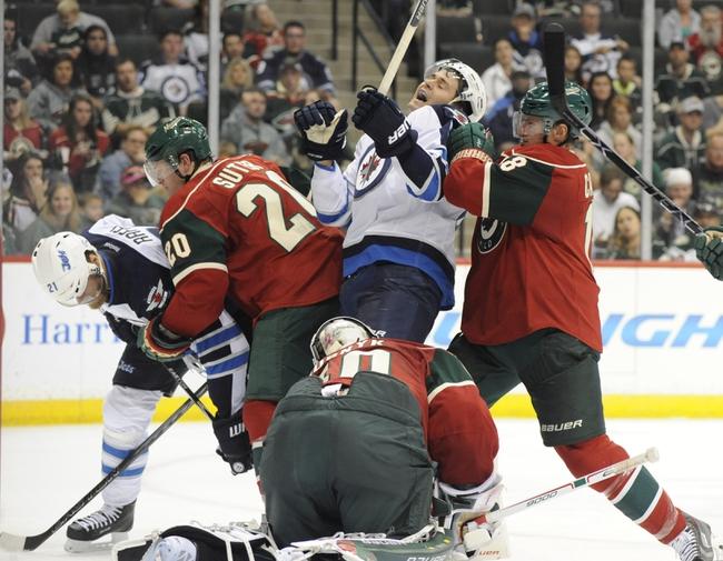 Winnipeg Jets vs. Minnesota Wild - 10/25/15 NHL Pick, Odds, and Prediction