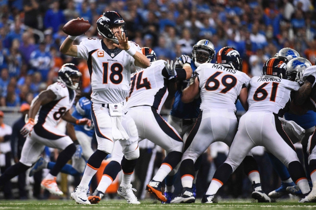 Denver Broncos vs. Minnesota Vikings - 10/4/15 NFL Pick, Odds, and Prediction